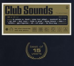 VARIOUS   CLUB SOUNDS BEST OF 15 YEARS   CD SAMPLER SME