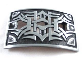Brilliant Celtic Belt Buckle Celt Irish Gothic BK0056