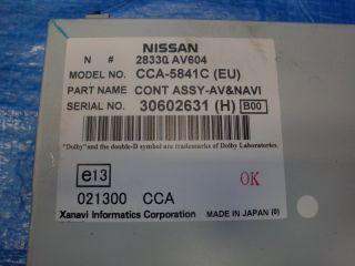 Navigation DVD für Nissan Primera 3 III P12 WP12 28330AV604 (416