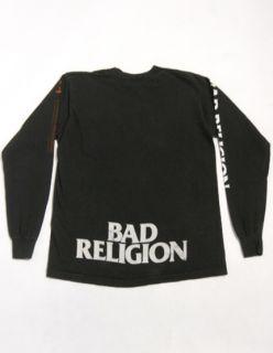 Vintage 90s BAD RELIGION Recipe For Hate PUNK CONCERT Tour L/S T Shirt