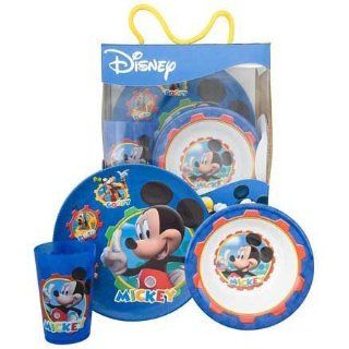 MICKEY MOUSE CLUBHOUSE, micky Maus, 3 tlg. Kinder Geschirr Set