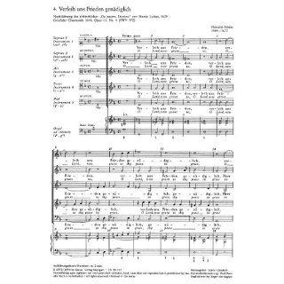 Schütz Verleih uns Frieden (SWV 372 (op. 11 no. 4)). Partitur (20 St