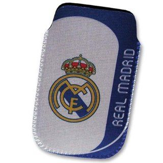 Real Madrid CF Tasche Cover Handy Mobile Handytasche schwarz Iphone 4