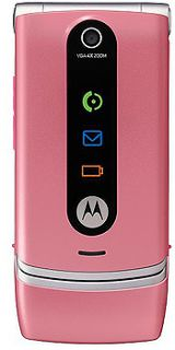 Motorola W377 Handy (Triband, Kamera,  Player, Radio) pink