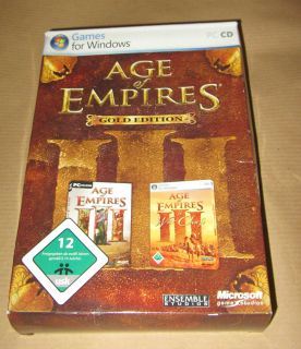 Age of Empires III Gold Edition (inkl. The War Chiefs (Addon))