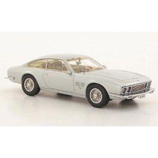 Monteverdi 375L, silber, 1969, Modellauto, Fertigmodell, Neo 143