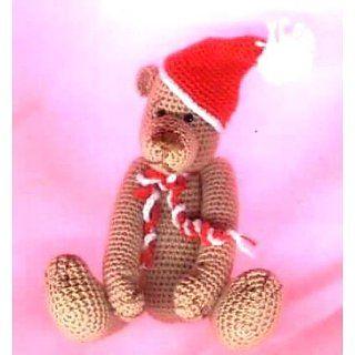 MILO. Christmas Crochet Teddy Bear Pattern eBook Edith Molina