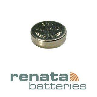 Renata SR626SW Model 377 Silver Oxide 1.55V Watch Battery