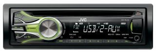 JVC KD R432 CAR STEREO RECEIVER  USB  CD    AUX  Pre Out