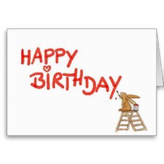 Happy Birthday Group   Cute Zoo Animals Card