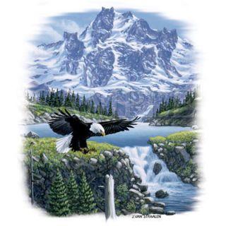 Eagle Adler T  Shirt Wölfe + TOP Motiv kaum spürbar