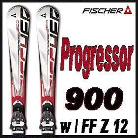11 12 Fischer Progressor 900 Skis 170cm w/RSX 12 Flowflex NEW