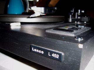 Highend Lenco L 452 Plattenspieler schwerem Stahlteller OK Krefeld