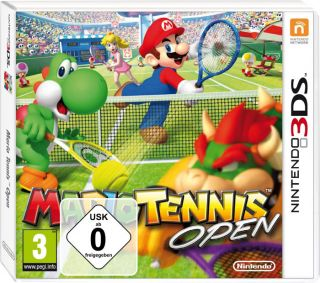 Mario Tennis Open ** Nintendo 3DS Spiel ** NEU OVP deutsch