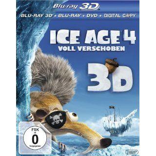 Ice Age 4   Voll verschoben + Blu ray + DVD + Digital Copy Blu ray 3D
