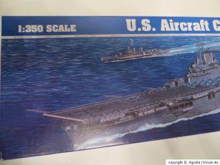 TRUMPETER BAUSATZ 1350 U.S. AIRCRAFT CARRIER CV 9 ESSEX