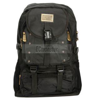 New Design Men Backpack Bag Mans Travelling Oxford Cloth Black