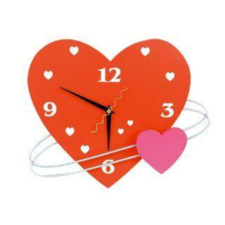 Herz Uhr Valentin Küche & Haushalt