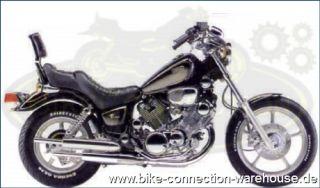 Chrom Fußrasten für die vorverlegte Rastenanlage Yamaha Virago XV