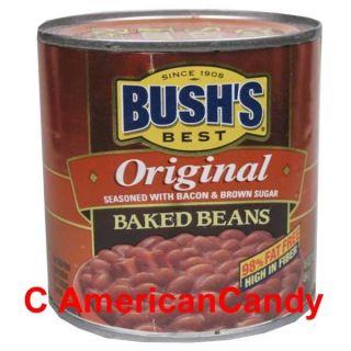 NEU 3x 454g Bushs Best Original Baked Beans amerikanische Bohnen (8
