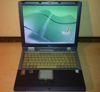 Fujitsu Siemens E Series Lifebook E2010 Notebook Laptop 2 20GHz 512MB