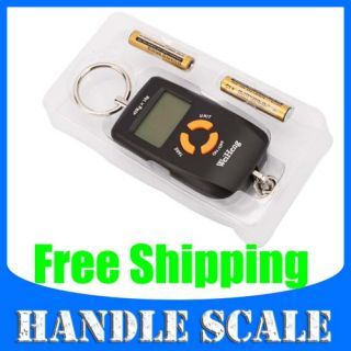45Kg/10g Digital Luggage Hanging Fishing Weight Scale B