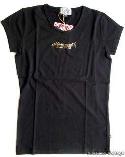 Alprausch Frauen T Shirt Katja L&S Black Schnäppchen € 17,20.  inkl