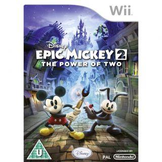 Disney Micky Epic   Die Macht der 2   Nintendo Wii Spiel   NEU&OVP