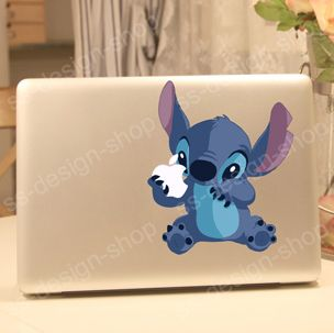 Lilo & Stitch Monster Vinyl Decal Sticker for Apple MacBook Air Mac