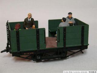 LGB 21140 LGB chen Feldbahn Dampflok mit Wagen Unikat