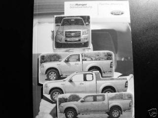 Ford Ranger   Bedienungsanleitung 2004   2007