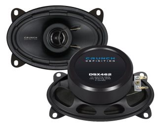 CRUNCH DEFINITION DSX 462 Koax System 4x6 70 Watt RMS