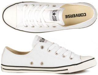 Converse Schuhe Chucks All Star Dainty Slim OX light white weiß 37,38