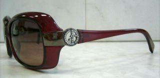 Original Giorgio Armani Sonnenbrille 478/S CVD3X Rot Bordeaux