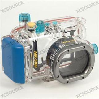 Waterproof Underwater Case for Canon Powershot S100 40m 130ft Diving