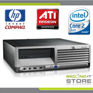 HP Compaq dc7700 SFF Intel Core 2 Duo 2 x 2 4 GHz 4 GB RAM 480 GB HDD