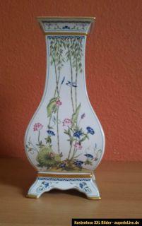 wunderschöne dekorative Vase im Cina  Style aus der Franklin Mint