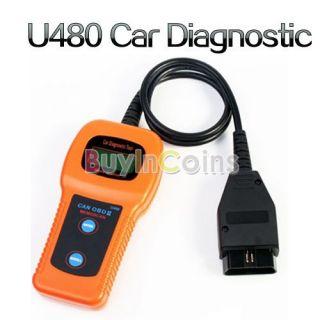 U480 CAN OBDII/OBD2 Car Diagnostic Tool Memo Scanner USB Cable Fault