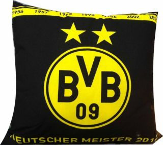 BVB Kissen Deutscher Meister 2012 2 Sterne BV Borussia Dortmund 09