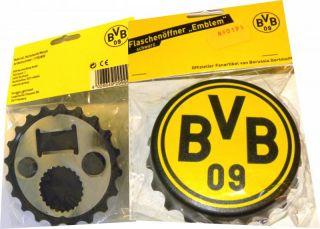 090191 WOW BVB Flaschenöffner Kronenkorken Magnet Logo Emblem