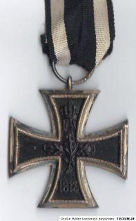 Weltkrieg Orden Eisernes Kreuz 1914 iron cross Hz KO