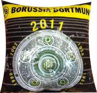 BVB Kissen versch. Designs Logo Emblem 38x38 Borussia