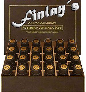 Scotch & Single Malt Whisky Nosing Aroma Kit 24 Aromen Whiskey Set