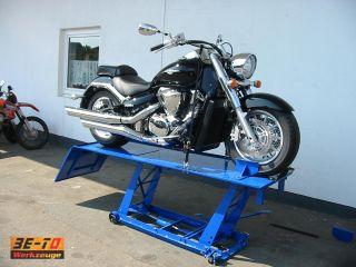 Große XXL Motorradhebebühne für Harley Davidson, Chopper, etc