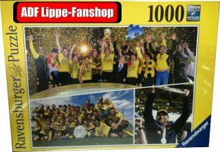 BVB Puzzle 1000 T. Ravensburger Double 2012 Deutscher Meister Borussia