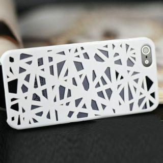 Color Bird Nest Mesh Pattern Matt Skin Hard Case Cover for Apple