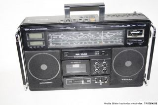 Grundig RR 1040 Radio und Cassetten Recorder