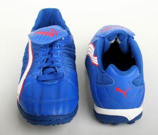 Puma Schuhe Cabeza JP blau weiß rot Gr.38