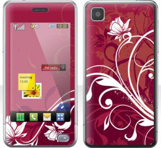 LG GD510 PoP Skin  ROSE  Aufkleber Sticker Folien NEU