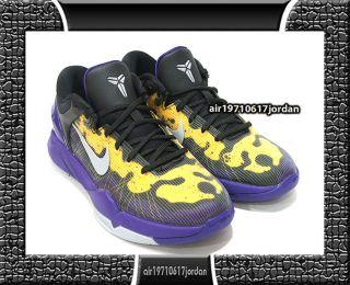 VII 7 GS Court Purple Wolf Grey Yellow Black 505399 501 US 5~7Y